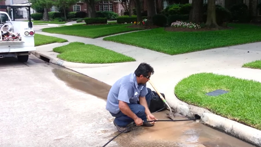 houston drain cleaning services