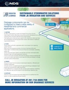 Houston stormwater drainage
