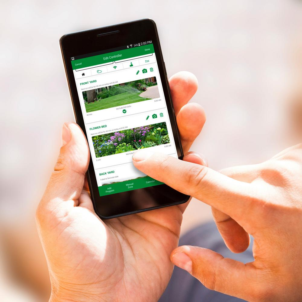 Control Your Lawn Watering From the Palm of Your Hand With Our New Wi-Fi Controllers